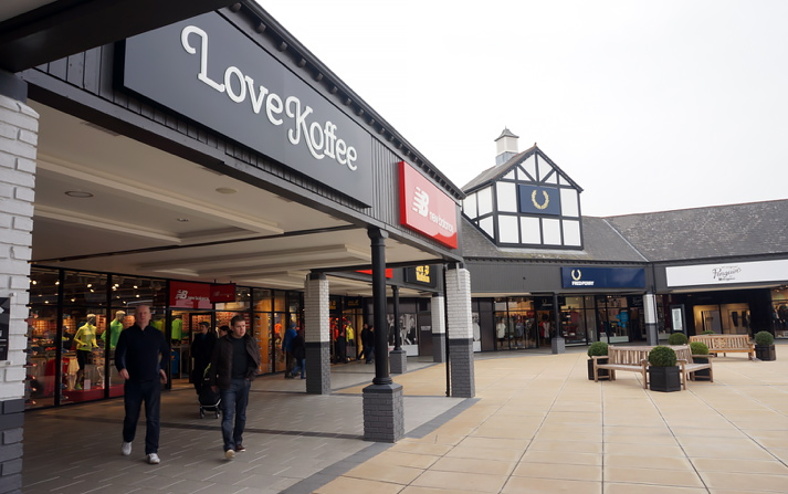 Cheshire Oaks Designer Outlet Village